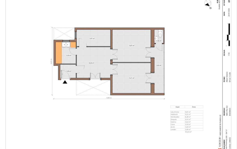mapa superfície habitatge