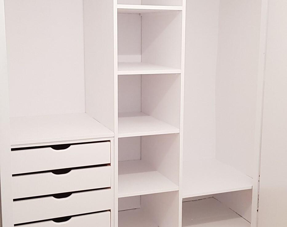 mobiliari vestidor interior